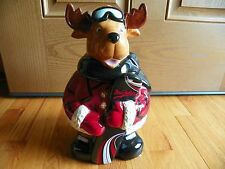 Moose Mrs. Fields  Snowboard Cookie Jar 12""
