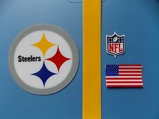 Pittsburgh Steelers football helmet decal set