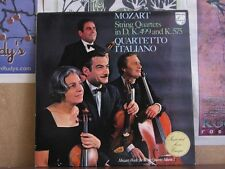 MOZART STRING QUARTETS, QUARTETTO ITALIANO -LP 6500 241