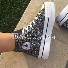 converse all star platform glitter