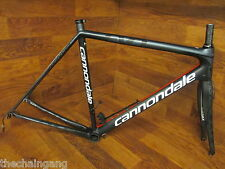 CANNONDALE SUPER SIX HI MOD EVO CARBON ROAD BIKE MATTE BLACK Di2 FRAME SET 54 CM
