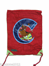 "BCK38312 Scooby-Doo Sling Bag 14"" x 11"" RED - HIGH QUALITY FABRIC BRAND NEW!!"