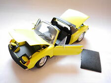 "Porsche 914 in grünl. gelb jaune giallo greenish yellow ""ravenna"", Revell 1:18!"