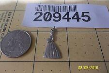 Vintage Sterling Silver Brides Maid Charm Bracelet 209445