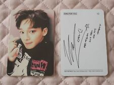 (ver. Chen) EXO Winter Special Album Sing For You Photocard Korean Version