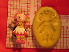 Upsy Daisy Doll Silicone Push Mold A801 For Fondant Chocolate Resin Clay Craft