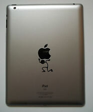 Apple iPad Mac Macbook STICK UOMO LIFT ILIFT CARRY Vinile Decalcomania Adesivo Tablet