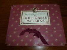 Pleasant Company American Girl Doll Dress Patterns for Samantha