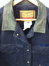 Diesel Men's Denim Jean  Jacket Size Large Made in Italy