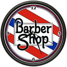 BARBER SHOP 2 Wall Clock hair salon stylist shop gift