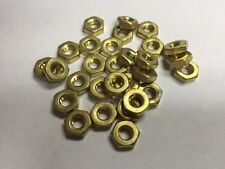 10/32  NC Hex Nut Brass 200 count
