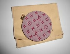 AUTH  LOUIS VUITTON CHERRY MINI LIN COIN /KEY WALLET BRAND NEW