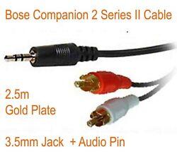 1x BOSE Companion 3 Serie 1,2 Series I /& II Lautsprecher PC Lifestyle