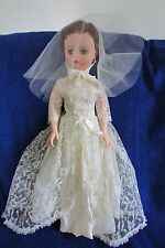 Vintage 1950's Bride Doll (Latex/Magic Skin)