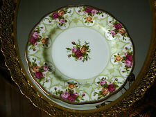 "Exquisite Collectible Fine Bone China Royal Albert Rose Cameo Dessert 8"" Plate"