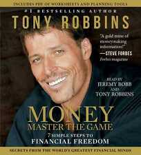Anthony Robbins 18 CD MONEY Master the Game : 7 Steps to Financial Freedom