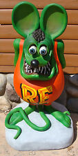 "42"" 3D Rat fink Statue [-Gas & Oil-]"