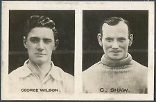 SPORTING CHAMPIONS-FAMOUS CAPTAINS-1922- #31-SHEFF W-GEORGE WILSON/CELTIC-C.SHAW