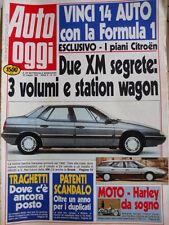 Auto OGGI n°181 1990 Renault 5 Campus - Tempra 1.6 SX Peugeot 405 GR [Q201]