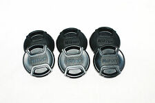 Genuine Nikon Digital LC-52 52mm LENS CAP COVER (All Black Option)... UK Seller