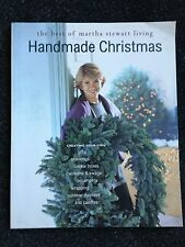 The Best of Martha Stewart Living Handmade Christmas 1995 Free Shipping in US