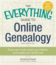 The Everything Guide to Online Genealogy: Trace Your Roots, Sha...(Paperback)