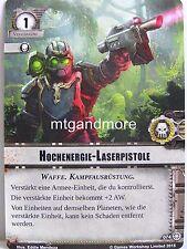 Warhammer 40000 Conquest LCG - 1x #074 Hochenergie-Laserpistole - Suche nach Wah