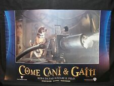 FOTOBUSTA CINEMA - COME CANI E GATTI - 2001- COMMEDIA - 01