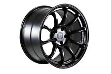 AODHAN AH06 18x9 5x100 +30 Matte Black (PAIR) wheels
