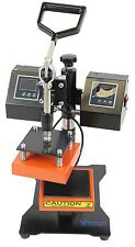 "5"" X 5"" Rosin Heat Press Dual Element Heating LCD screen"
