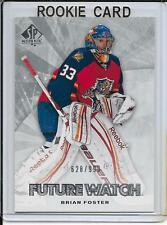11-12 SP Authentic Brian Foster Future Watch Rookie # 195