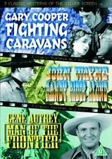FIGHTING CARAVANS*RANDY RIDES ALONE*MAN OF THE FRONTIER John Wayne DVD *EXC*