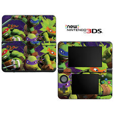 Vinyl Skin Decal Cover for Nintendo New 3DS - Teenage Mutant Ninja Turtles TMNT
