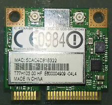 SCHEDA WIFI  BROADCOM   BRCM1045 PCI-E HALF mini Card 4324A-BRCM1045