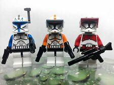 NEW Lego Star Wars COMMANDER CODY FOX & CAPTAIN REX CLONE TROOPERS MINIFIGS RARE