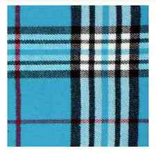 New Winter Warm 100% Cashmere Feel Plaid Wraps Scarves Blue