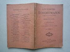 1927 LES CONTES D'HOFFMANN PAROLES J BARBIER MUSIQUE OFFENBACH DRAME DE CARRE ET