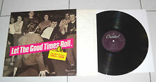 "Lp 33 giri LET THE GOOD TIMES ROLL early Rock Classics 1952-1958 12"" disco Set 1"