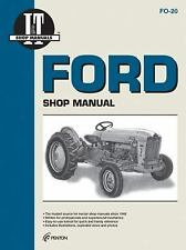 Ford : Shop Manual Fo-20 501 600 700 701 800 801 900 901 1801 2030 2031 2110