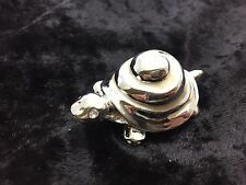 Silver PLATED DECORATED W/ SWAROVSKI CRYSTAL ELEMENTS CRAB PEWTER