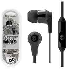 GENUINE SKULLCANDY SUPREME SOUND INK'D 2 EARPHONE FOR ANDROID & IPHONE ( BLACK )