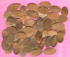 Arizona Grand Canyon and more. Elongated Pressed Penny Lot of 56