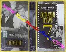 VHS film cartonata TOTO'A COLORI sigillata L'UNITA' E RICORDI 7 (F83) no dvd