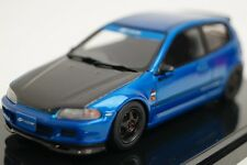 16S08-02 onemodel 1:43 Honda Civic EG 6 Spoon Blue