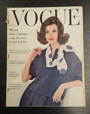 AMERICAN VOGUE Magazine August 15th 1960