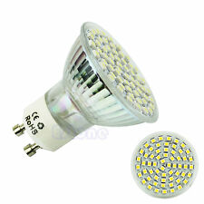 GU10 60 LED 3528 SMD 5W Warm White 3500K High Power Spot Light Lamp Bulb 220V
