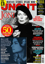 UNCUT #199 12/2013 JONI MITCHELL King Crimson AC/DC + BLUE NOTES CD @NEW
