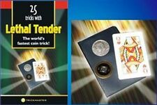 Card Coin Magic Trick LETHAL TENDER KIT