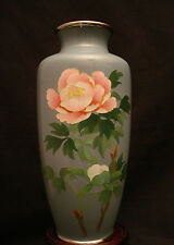 """7"""" H MARKED ANDO JAPANESE  SILVER WIRE CLOISONNE VASE"""