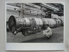 PHOTO PRESSE BOURGET PRATT & WHITNEY AIRCRAFT TF30P-3 TURBOFAN ENGINE F-111